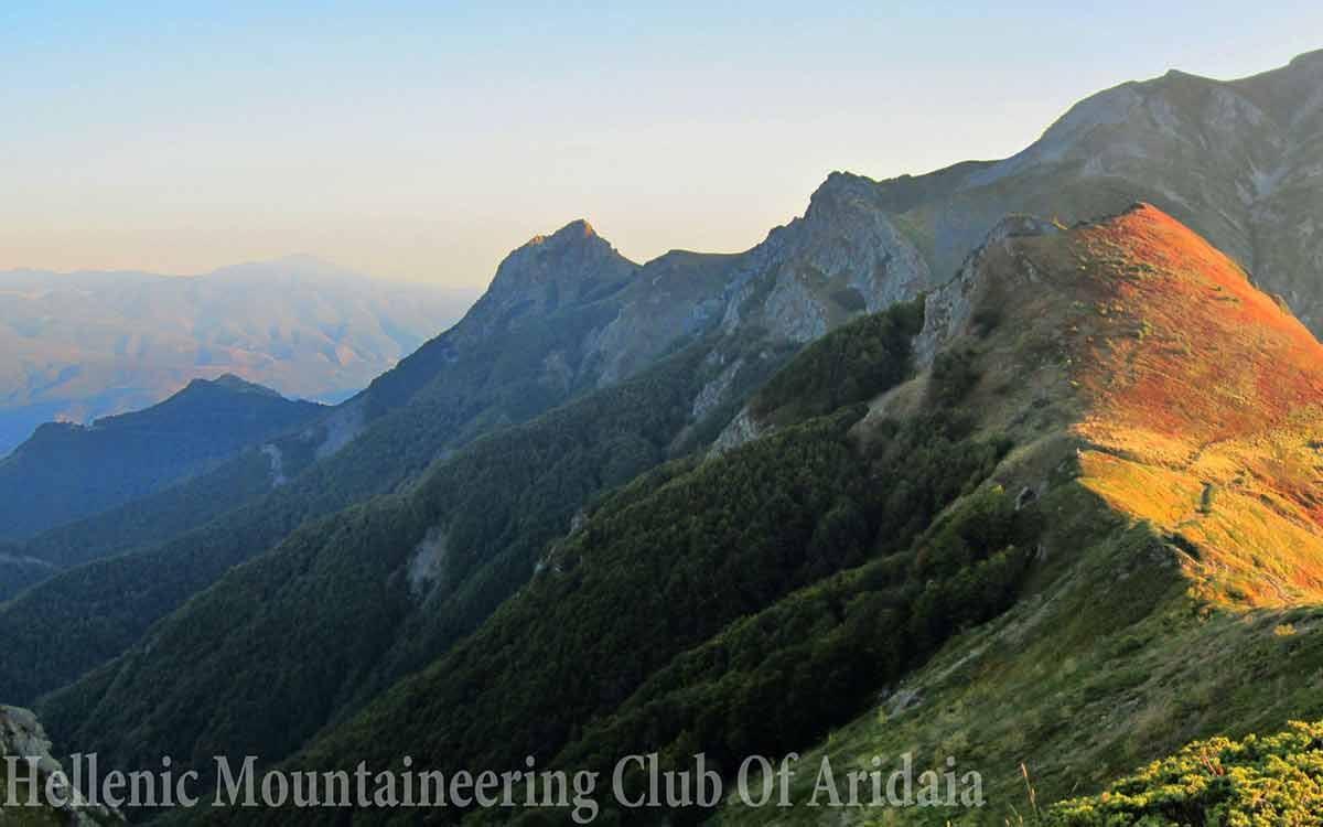 Ορειβασία στα Λουτρά Πόζαρ